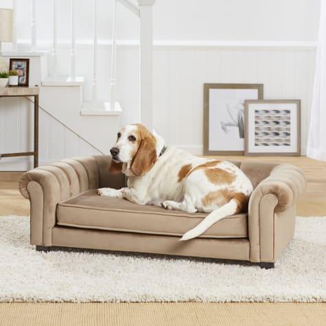 Enchanted Home Pet Sullivan Brown Sofa
