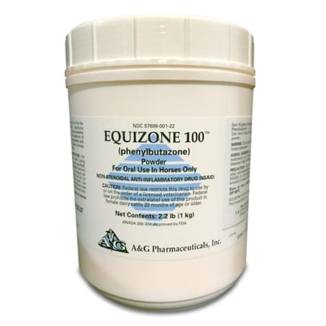 Equizone 100 (phenylbutazone) Oral Powder