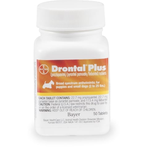 Drontal Plus Tablets for Small Dogs
