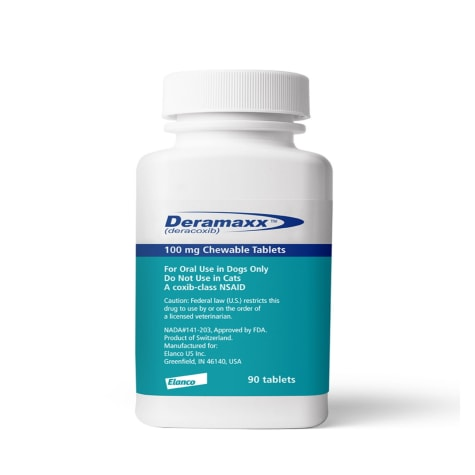 Deramaxx 100 mg Chewable Tablets for Dogs