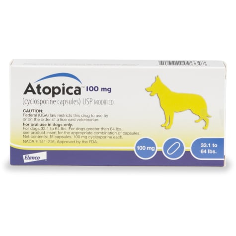 Atopica 100 mg Capsule for Dogs
