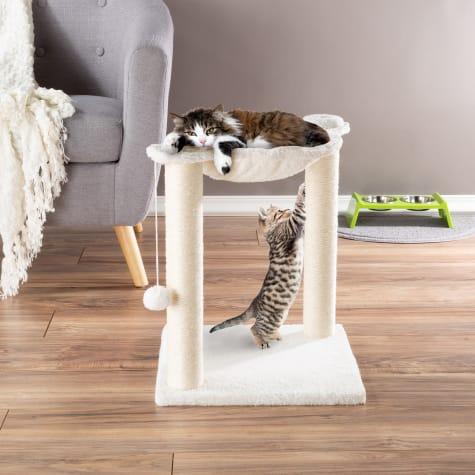 PETMAKER Hammock and Scratcher Cat Tree
