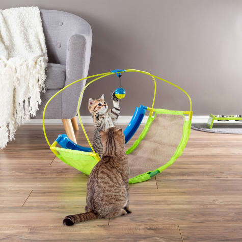 PETMAKER Interactive Rocking Activity Mat Cat Toy