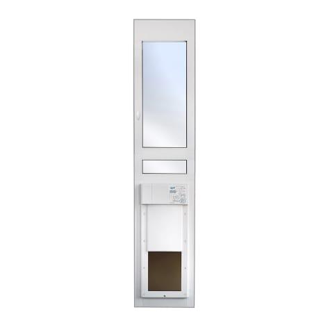 High Tech Pet Power Pet Eglass Regular Height Fully Automatic Patio Door