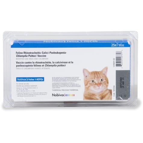 Nobivac Feline 1 Hcpch 4 Way Vaccine 25 Doses Petco