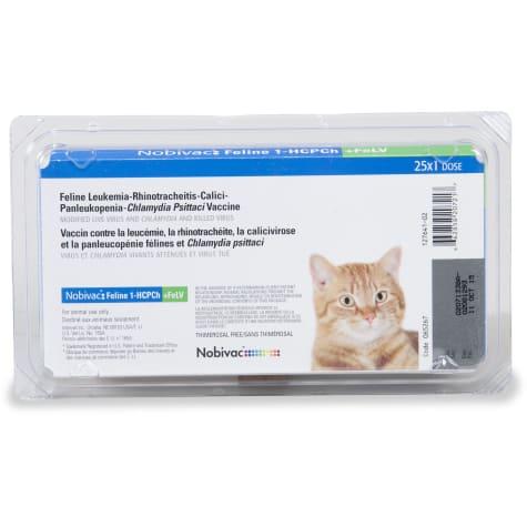 Nobivac Feline 1-HCPCh + FeLV 4-Way Vaccine