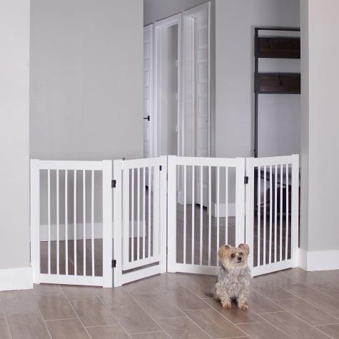 Primetime Petz 360 White Configurable Pet Gate with Door