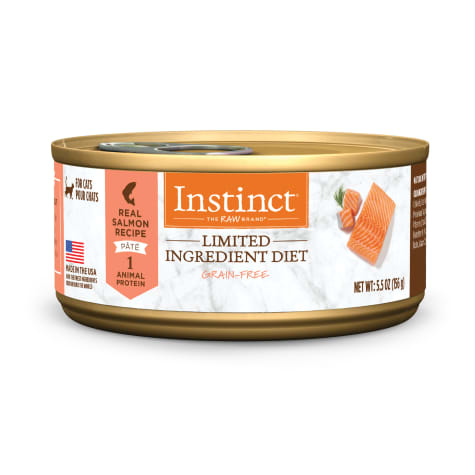 Instinct Limited Ingredient Diet Grain-Free Pate Real Salmon Recipe Wet Cat Food