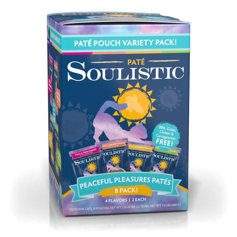 Soulistic Pate Peaceful Pleasures Variety Pack Wet Cat Food