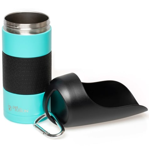 PetFusion On-The-go Dog Water Bottle & Dispenser with Double Wall Vacuum Stainless Steel