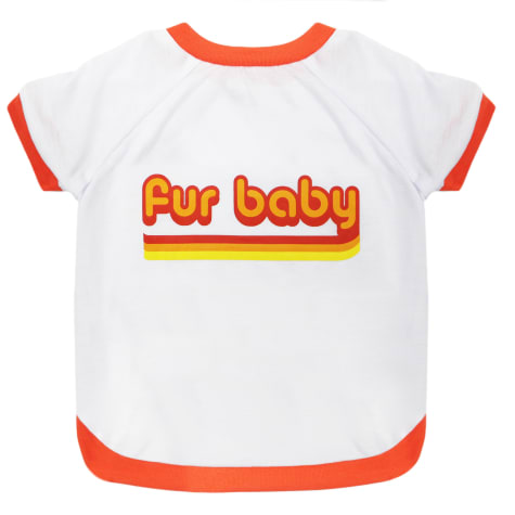 LaurDIY Pets First Fur Baby T-Shirt for Dogs