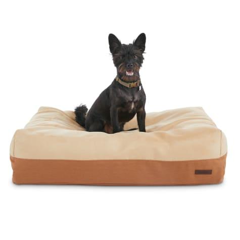 Reddy Lounger Orthopedic Tan Dog Bed