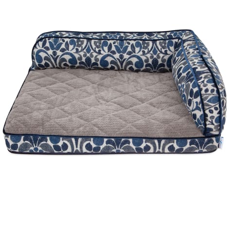 La-Z-Boy Sadie Blue Jacquard Sofa Dog Bed