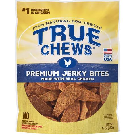 True Chews Premium Chicken Jerky Bites Dog Treats