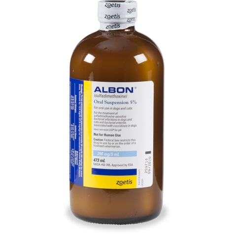 Albon Oral Suspension