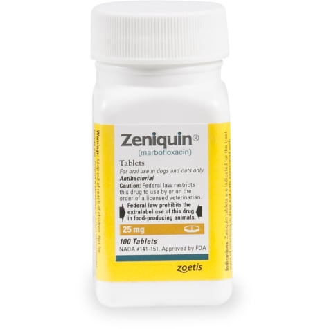 Zeniquin 25 mg Tablets