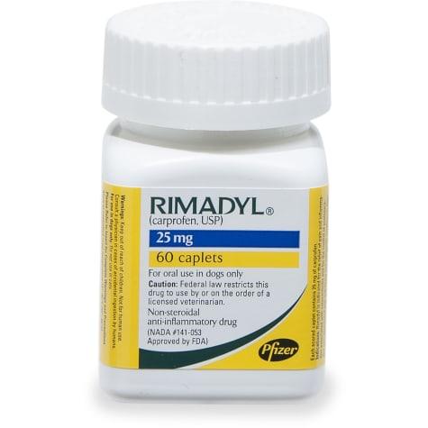 Rimadyl 25 mg Caplets