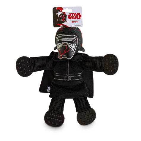 STAR WARS Kylo Ren Plush Dog Toy