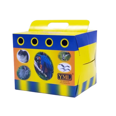 YML Cardboard Carrier for Small Animals or Birds
