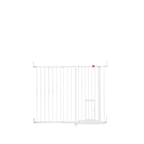 Carlson Pet Products Extra Tall Maxi Gate with Pet Door