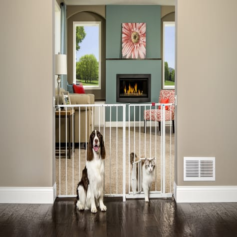 Carlson Pet Products Maxi Gate with Pet Door