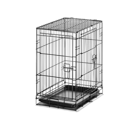 Carlson Pet Products Small Two Door Wire Crate with Divider