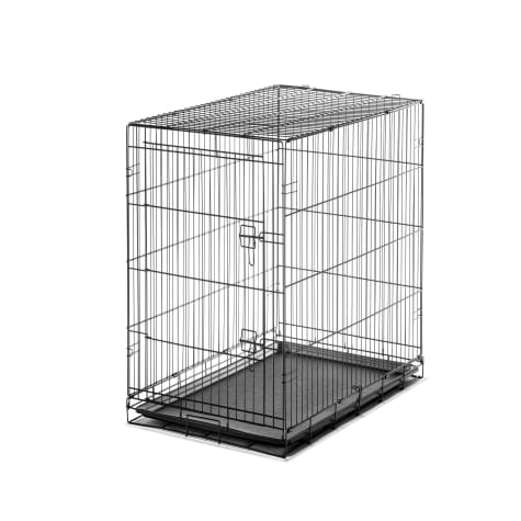 Carlson Pet Products Large Single Door Wire Crate