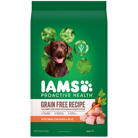 Iams Proactive Health Grain Free Recipe with Real Chicken and Peas Adult Dry Dog Food