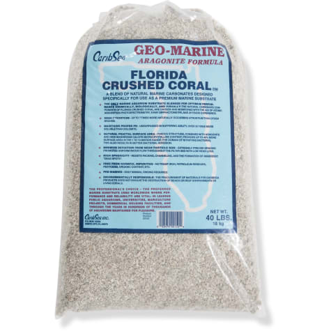 CaribSea Florida Crushed Coral Substrate