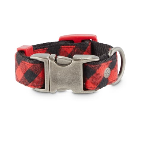 Bond & Co. Buffalo Check Dog Collar