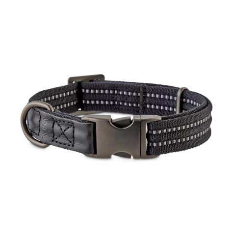 Reddy Black Webbed Nylon Dog Collar