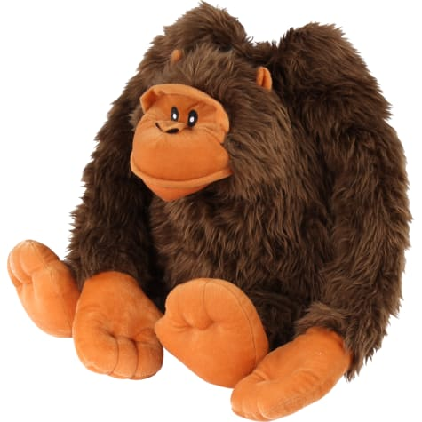 Petlou Squeak N Grunters Gorilla Lou Plush Dog Toy
