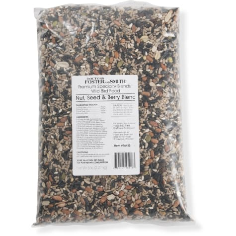 Drs. Foster and Smith Premium Specialty Blends Nut, Seed & Berry Seed Blend for Wild Birds