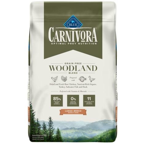 Blue Buffalo Blue Carnivora Woodland Blend Optimal Prey Nutrition Grain Free Adult Large Breed Dry Dog Food