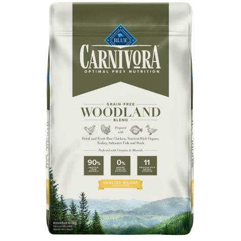 Blue Buffalo Blue Carnivora Woodland Blend Optimal Prey Nutrition High Protein, Grain Free Healthy Weight Dry Dog Food
