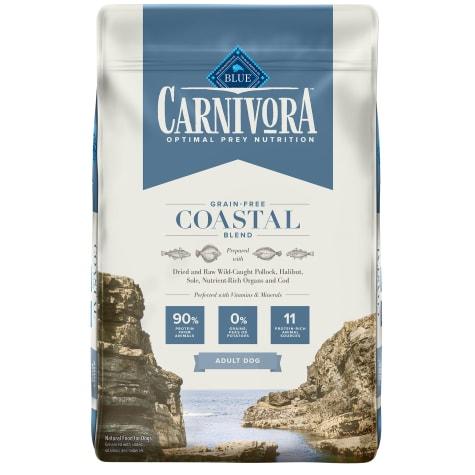 Blue Buffalo Blue Carnivora Coastal Blend Optimal Prey Nutrition High Protein, Grain Free Natural Adult Dry Dog Food