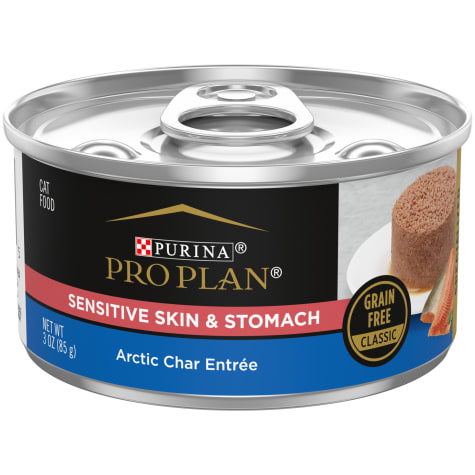 Purina Pro Plan Focus Sensitive Skin & Stomach Arctic Char Entree Wet Cat Food