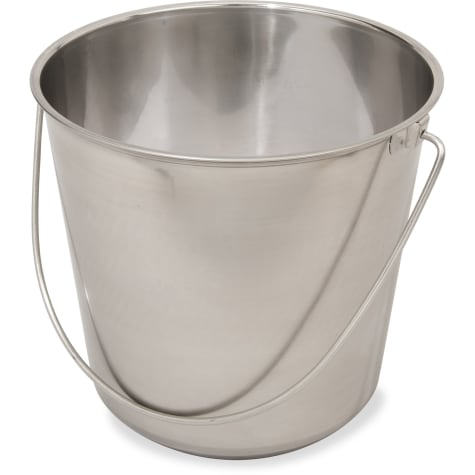 Indipets Stainless Steel Heavy Duty Pail