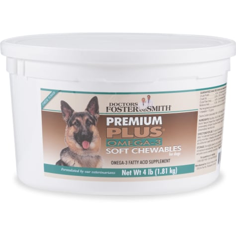 Drs. Foster and Smith Premium Plus Omega-3 Soft Chews for Dogs