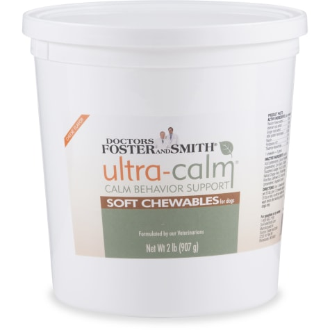 Drs. Foster and Smith Ultra-Calm Calm Behavior Support Soft Chews for Dogs