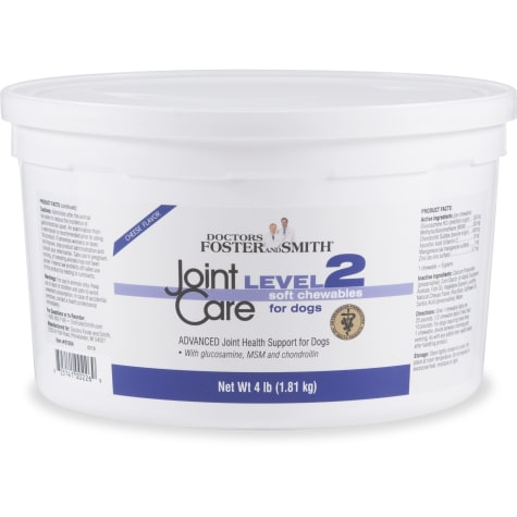 Drs. Foster and Smith Level 2 Joint Care Soft Chews for Dogs