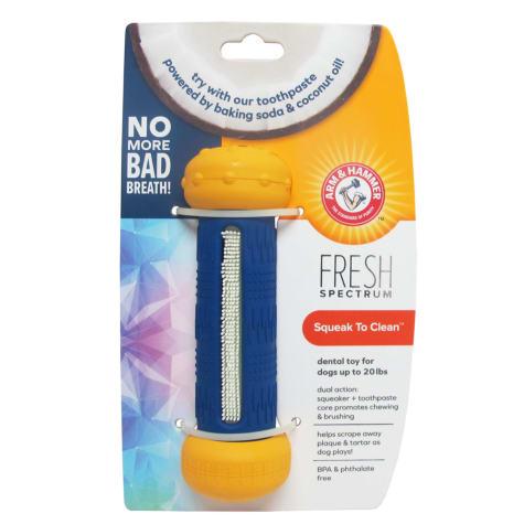 Arm & Hammer Fresh Spectrum Squeak to Clean Dental Bone Dog Toy