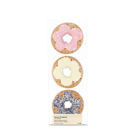 Happy Happenings Birthday Donut Dog Cookies