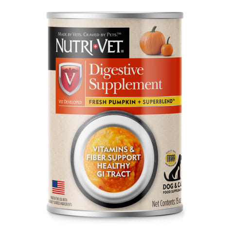 Nutri-Vet Digestive Support Pumpkin Supplements For Dogs