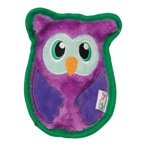 Outward Hound Invincibles Owl Dog Toy