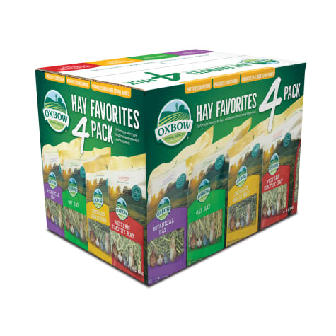 Oxbow Hay Variety Pack Adult Dry Food for Small Animals