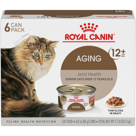 Royal Canin Aging 12+ Thin Slices in Gravy Variety Pack Wet Cat Food
