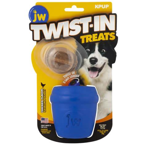 JW Pet Twist in Treat Dispenser Chew Dog Toy
