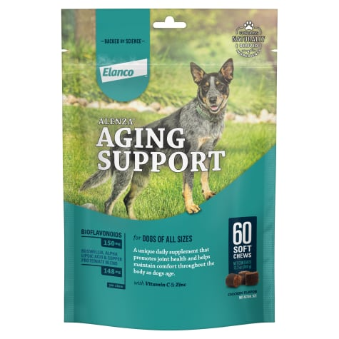 Bayer Alenza Soft Chews Aging Support for Dogs