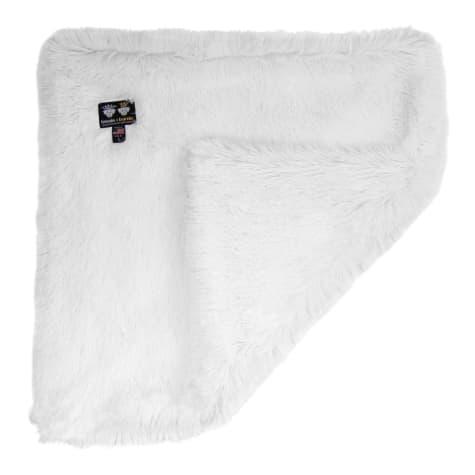 Bessie and Barnie Ultra Plush Snow White Luxury Shag Pet Blanket